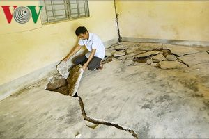 Điện Biên cần di dời khẩn cấp 44 hộ dân trước nguy cơ sạt lở
