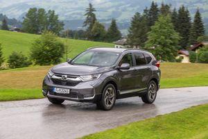 Honda CR-V Hybrid sẽ có mặt tại châu Âu vào năm 2019