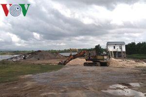 Điều tra vụ 'hỗn chiến' giữa các chủ mỏ cát ở Quảng Bình