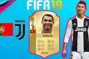 Cristiano Ronaldo & Top 10 chân sút Serie A có chỉ số cao nhất FIFA 19