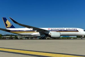 Singapore Airlines nhận máy bay A350 XWB siêu tầm xa đầu tiên