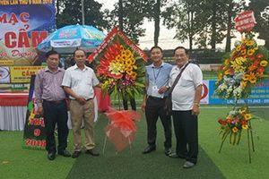 Tổ chức giải bóng đá 'Cúp Đất Cẩm – 9 năm một chặng đường'