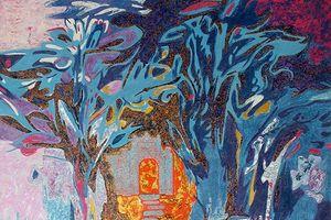 Triển lãm màu 'Lam' của nhóm họa sỹ Sơn ta Việt Nam