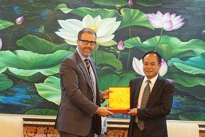 Công an Hà Nội trao đổi kinh nghiệm với Lãnh sự Châu Á Thái Bình Dương