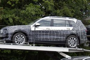 Rò rỉ thiết kế nội thất BMW X7 trước ngày ra mắt