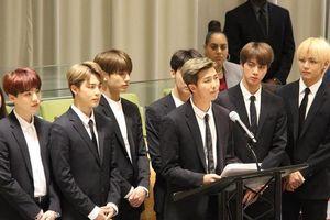 BTS gây chú ý khi phát biểu về nạn bạo lực tại trụ sở Liên Hợp Quốc