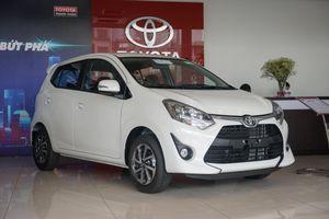 Toyota Wigo giá từ 345 triệu đồng về đại lý ngay sau khi ra mắt