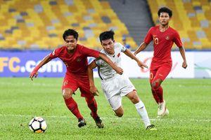 VCK U16 châu Á: Việt Nam chia điểm đáng tiếc với Indonesia