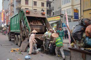 Rác thải tại Hà Nội lên tới hơn 6.000 tấn/ngày