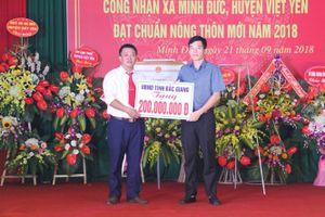 Xã cuối cùng của huyện Việt Yên đạt chuẩn