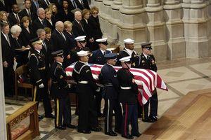 Mỹ tổ chức quốc tang như thế nào?