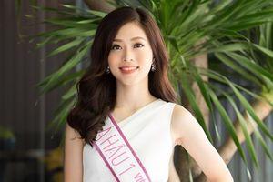 Á hậu Phương Nga tập trung toàn lực cho cuộc thi Miss Grand International 2018
