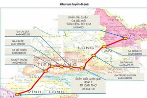 Đường sắt cao tốc TPHCM - Cần Thơ: 8h ăn sáng ở TPHCM, 8h45 uống cafe ở Cần Thơ
