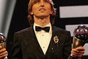 Giành giải The Best 2018, Modric thêm một lần vượt mặt Ronaldo, Messi
