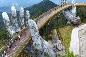 Du khách không thốt nên lời khi bước chân tới cây cầu nổi tiếng Việt Nam này