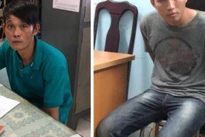 Hai đối tượng cùng bộ đồ nghề 'khủng' bị hình sự đặc nhiệm bắt giữ