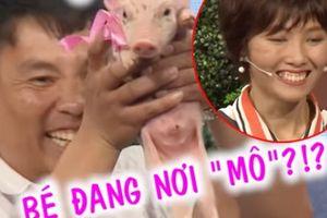 Đến 'Bạn muốn hẹn hò', trai trẻ mang theo lợn tặng bạn gái