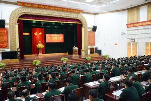 Quân khu 1 sơ kết 5 năm thực hiện Nghị quyết 765 của Quân ủy Trung ương