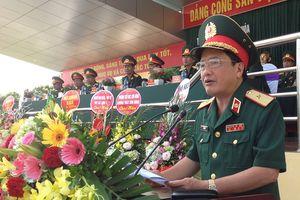 Trường Sĩ quan Phòng hóa khai giảng năm học mới