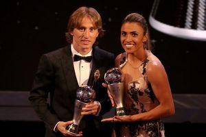 Luka Modric giành giải Cầu thủ nam xuất sắc nhất năm của FIFA