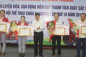 Đà Nẵng tuyên dương HLV, VĐV đạt thành tích tại ASIAD 18