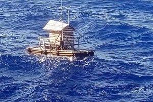 Chàng trai Indonesia sống sót kỳ diệu sau 49 ngày lênh đênh trên túp lều câu cá biển