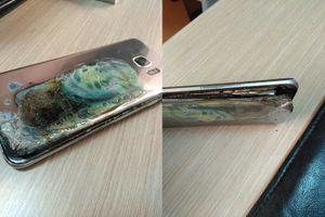 Thêm điện thoại Galaxy S7 Edge tự cháy nổ