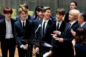 Tại Liên Hiệp Quốc, BTS nói kêu gọi giới trẻ tự tin