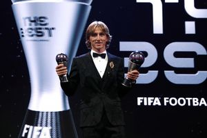 Luka Modric xuất sắc đạt danh hiệu The Best