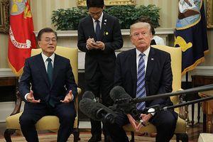Tổng thống Hàn Quốc chuyển lời nhắn của ông Kim tới ông Trump