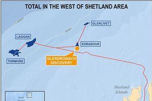Total phát hiện mỏ khí lớn ngoài khơi quần đảo Shetland
