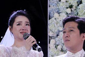 Đám cưới Trường Giang - Nhã Phương: Nhã Phương khóc vì hạnh phúc