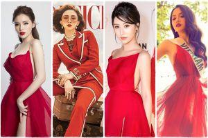 Trang phục sắc đỏ giúp bạn trở nên tự tin và thành công