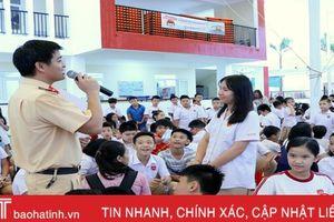 ATGT trong trường học ở Hà Tĩnh, phải giáo dục thường xuyên
