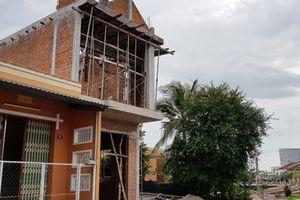 Sóc Trăng: Nữ Phó bí thư huyện xây nhà trái phép