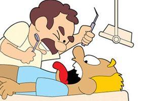 Tối cười: Gãy răng vì ăn bánh vợ làm