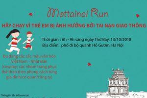 Thi chạy gây quỹ ủng hộ trẻ em bị TNGT