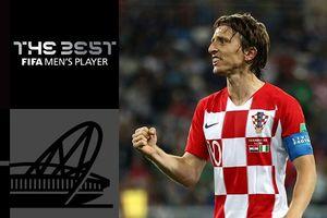 Giành giải thưởng The Best, Modric nói câu đầy ẩn ý về Ronaldo