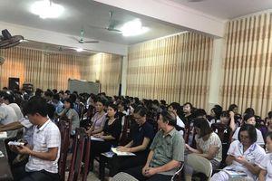 Nam Định: Gần 300 cán bộ y tế được thực hành kiểm soát biến chứng đái tháo đường