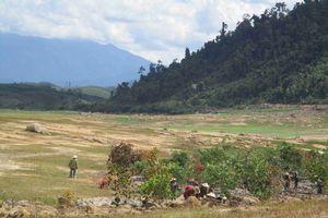 Phú Yên: Sở TN&MT thông báo kết quả kiểm tra hoạt động khai thác đá đen tại khu vực lòng hồ thủy điện Sông Hinh