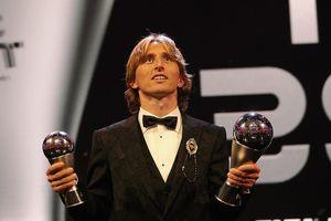 Đánh bại Ronaldo và Salah, Modric ẵm giải The Best