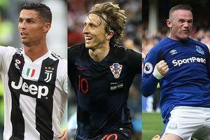 Đội hình ngôi sao sinh năm 1985: Modric 'tiếp đạn' cho Ronaldo và Rooney