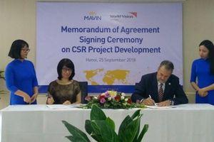 Tập đoàn Mavin ký kết hợp tác với Tổ chức World Vision
