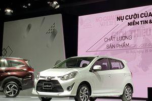 Toyota Việt Nam chính thức giới thiệu mẫu Wigo, giá bán từ 345 triệu đồng