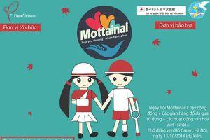Chương trình Mottainai 2018 gây quỹ ủng hộ trẻ em bị tai nạn giao thông