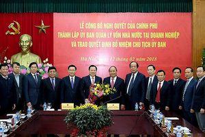 Ủy ban Quản lý vốn Nhà nước tại doanh nghiệp dự kiến ra mắt ngày 27/9