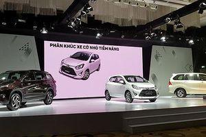 Toyota ra mắt 3 xe nhập khẩu giá mềm tại Việt Nam
