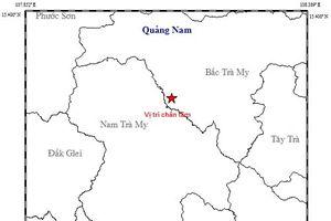 Quảng Nam: Liên tiếp xảy ra động đất