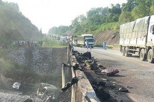 Cao tốc Nội Bài - Lào Cai tạm thông xe sau vụ cháy xe chở xăng làm hỏng cầu Ngòi Thủ
