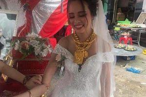 Cô dâu Kiên Giang c trao 129 cây vàng trong ngày ci
